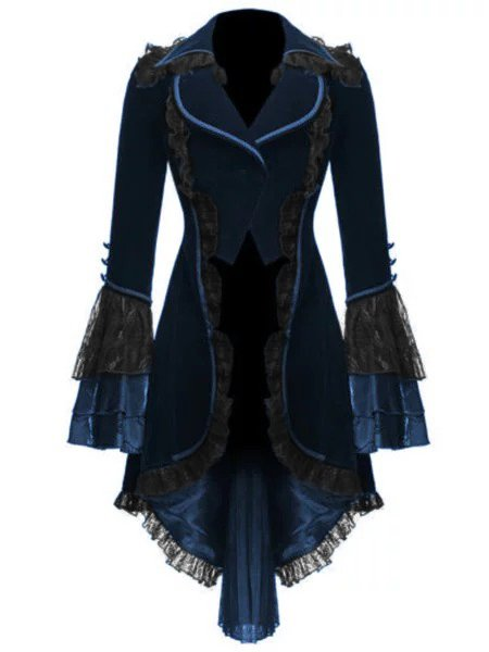 Women Long Sleeve Halloween's Coat