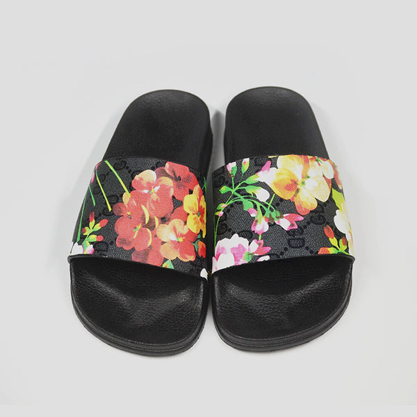 Artificial Pu Printed Holiday Shoes