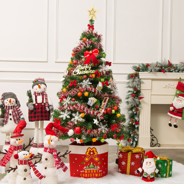 Christmas Tree Decorations Non-woven Fabric Sorage Box 1.5/1.8m Christmas Tree Base Box