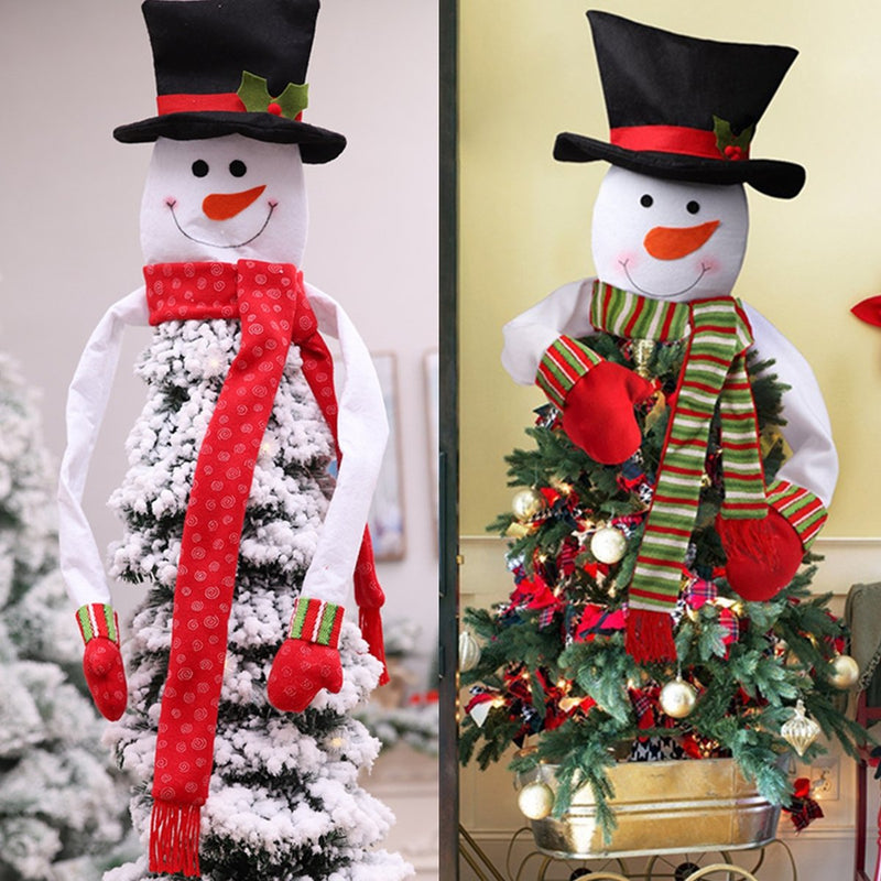 Christmas Tree Top Snowman Christmas Ornament Christmas Trees Decoration Tool