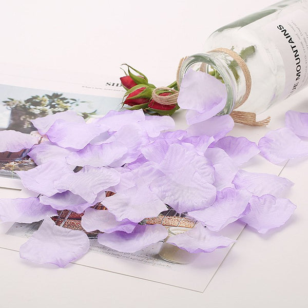 300pcs Silk Rose Flower Petals for Wedding Party Table Decorations