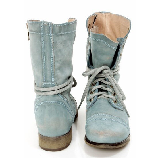 Women Winter Pu Low Heel Daily Boots