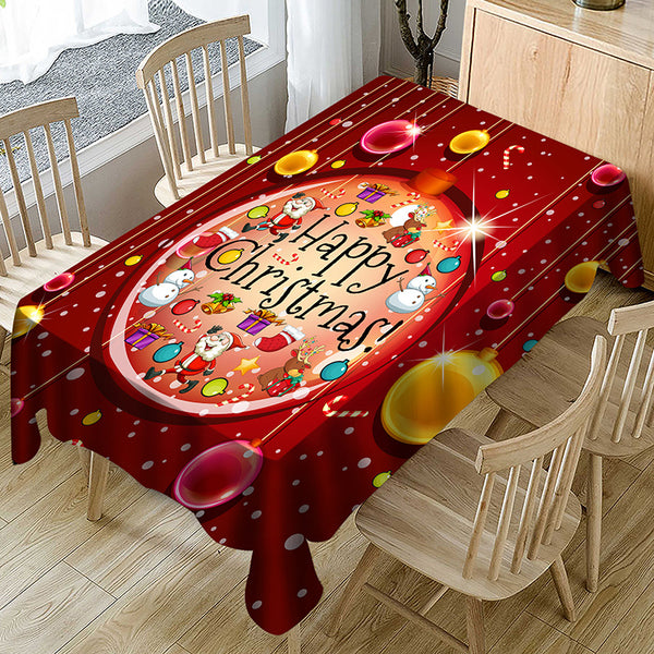 New Hot-sale Household Christmas Series Decorative Cloth Tablecloth