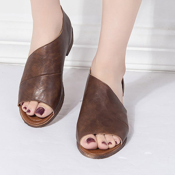 Flat Heel Casual Pu Shoes