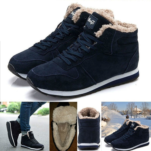 Women Keep Warm Plush Ankle Snow Work Boots