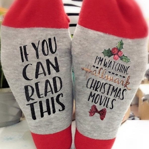 Christmas Casual Cotton Tube Socks