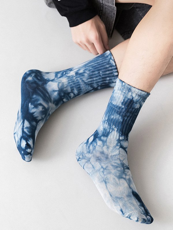 Warm Mid-Carf Socks - One size