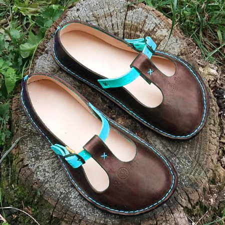 Summer Vintage Flat Heel Soft Shoes