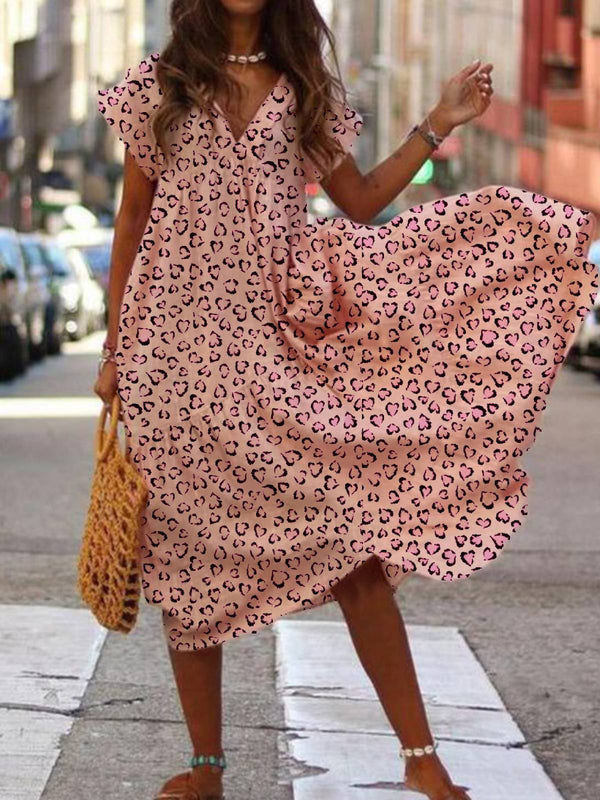 Pink Holiday A-Line Dresses