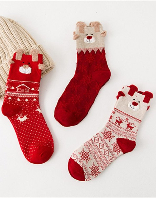 Christmas Casual Underwear & Socks