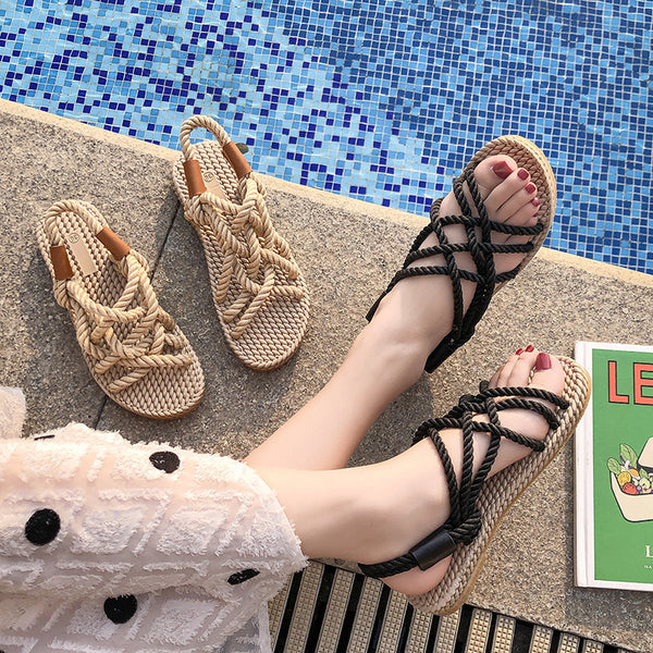 Pi Clue Holiday Sandals
