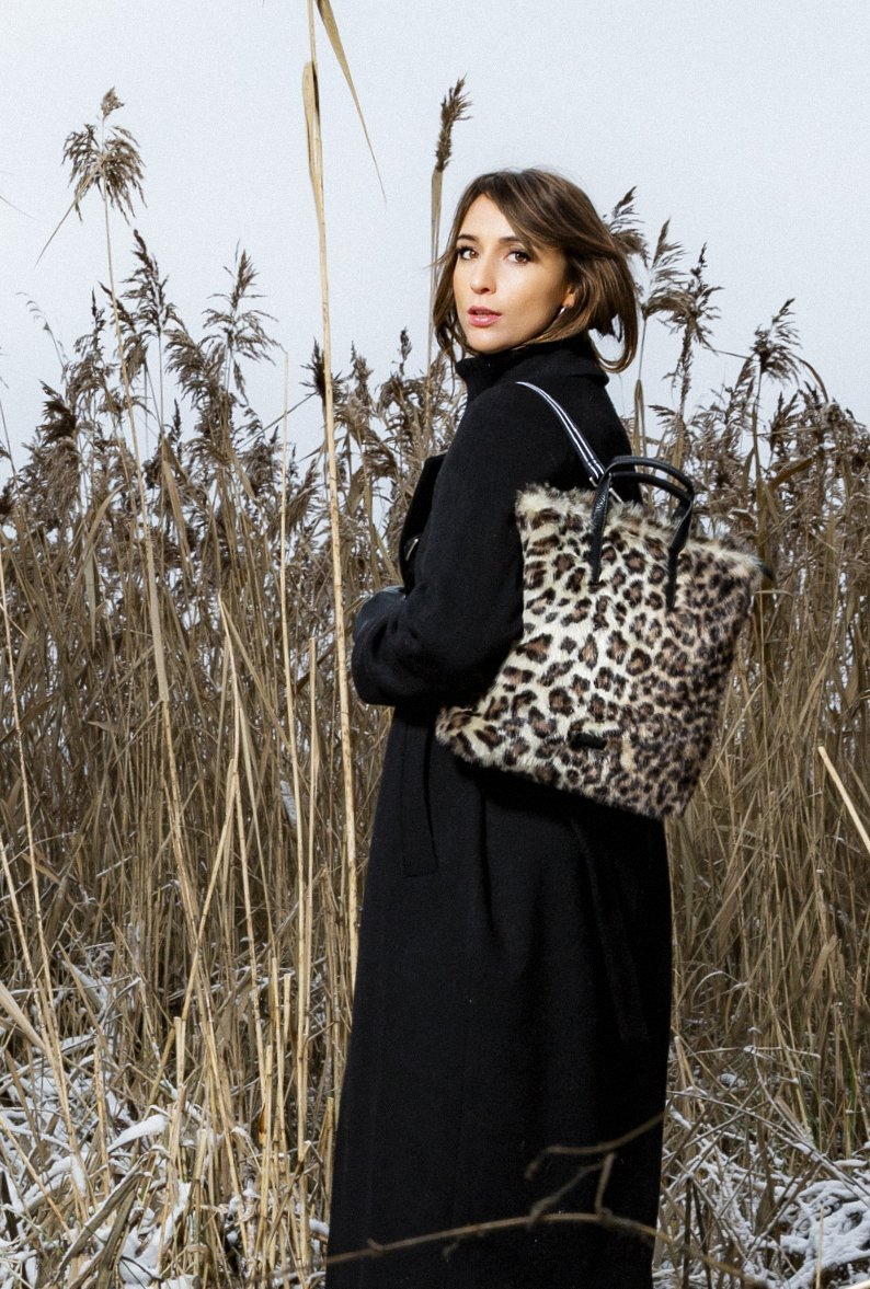 Jost Leo / Faux Fur - X-Change Bag XS