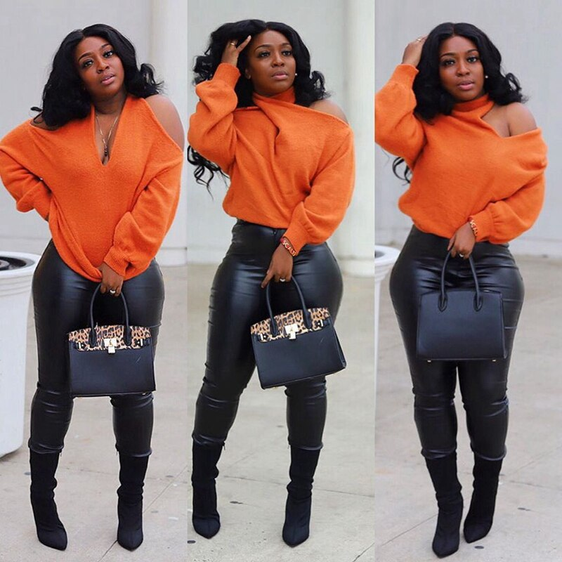 Cold Shoulder Cross Over Blouse - Voluptuous Inc