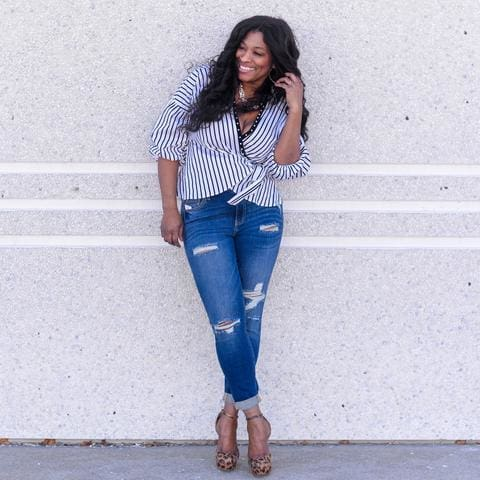 2c99595387 CEO and Founder Angela Samuels Knowing it would be difficult to put a dent  into the fashion world, which is consistently dominated by retailers  catering to ...