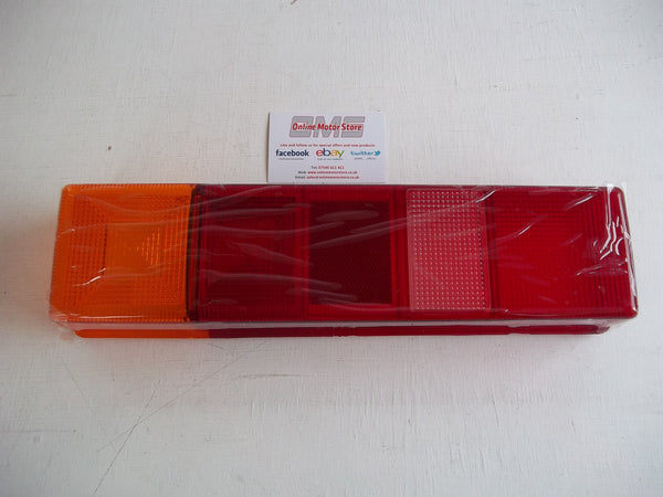 FORD TRANSIT 2000+ ONWARDS - REAR LIGHT CLUSTER PANEL LENS - CHASSIS CAB - NEW