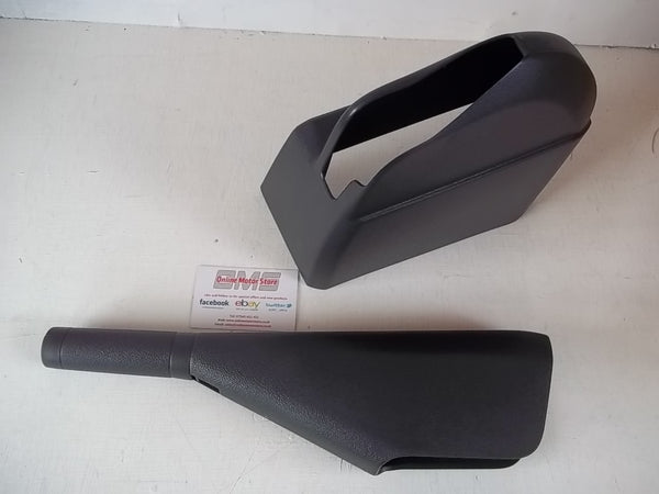 Transporter T5 GP T6 - HANDBRAKE SHAFT HANDLE COVER FULL SET - GENUINE VW