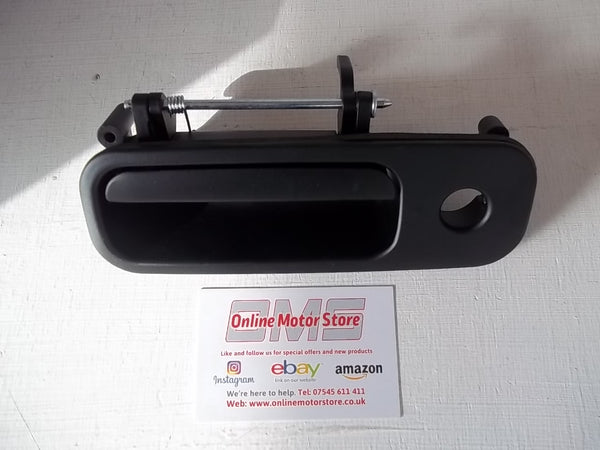 TRANSPORTER T5 + CADDY + GOLF MK4 + POLO MK3 - REAR TAILGATE EXTERIOR RELEASE HANDLE MECHANISM