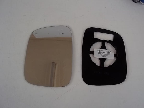 Transporter T5 2003-2009 - WING MIRROR GLASS + BACKING - BOTH SIDES AVAILABLE