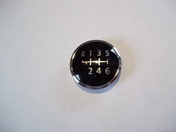 Transporter T5 + T5 GP + T6 - 2003-Onwards - CHROME Gearknob badge emblem