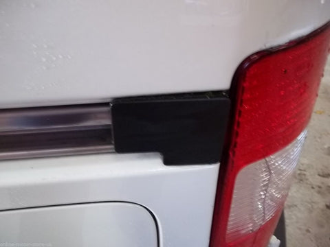 Caddy - Side loading door rail trim - 2003-present