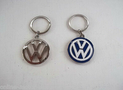 Volkswagen luxury key ring set - LARGE 37mm - NEW - GENUINE VW  SUPERIOR QUALITY