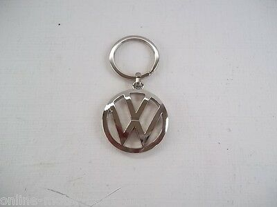 Volkswagen luxury keyring - CHROME LARGE 37mm - NEW - GENUINE - SUPERIOR QUALITY