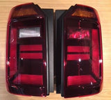 CADDY 2015- REAR LIGHT CLUSTER LENS - TAILGATE - NEW STYLE - SMOKED