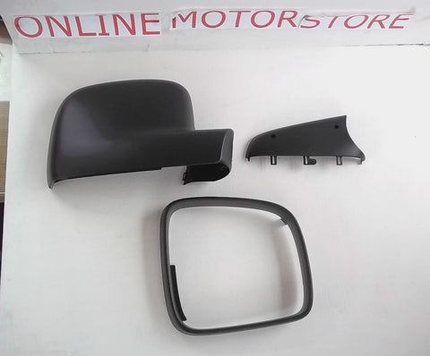 Transporter T5 + VW Caddy wing mirror kit - RIGHT - DRIVER SIDE - full kit and all parts seperately - Genuine VW items