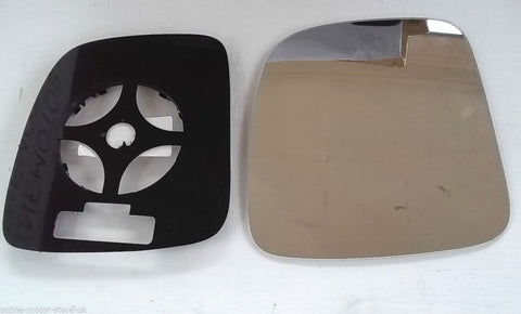 Caddy 2004+ - WING MIRROR GLASS + BACKING - BOTH SIDES AVAILABLE