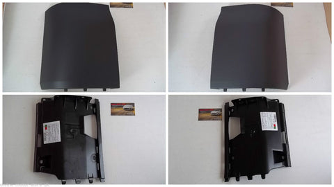 VOLKSWAGEN TRANSPORTER T5 - REAR TAILGATE TRIM CORNER COVER & BRACKET - FULL KIT - TAILGATE CONVERSION PARTS