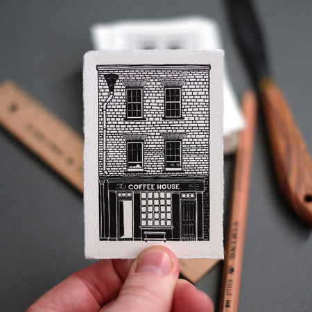 The Gentlemen Baristas - Union St. Letterpress Print