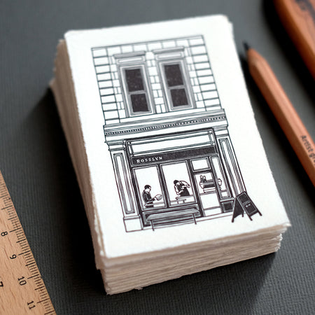 Rosslyn Coffee Letterpress Print