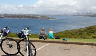 North Head, Sydney Harbour National Park. Electric Bike.