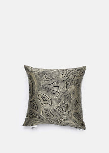 Scarabeo Malachite Cushion