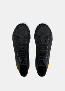 Black Tyres Heel High-Top Sneakers