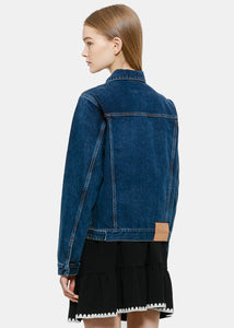 Indigo Duffle Denim Jacket