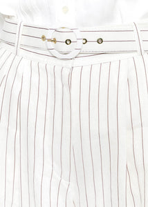 Ivory Tailored Pants