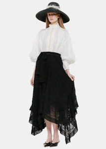Black Hanky Skirt