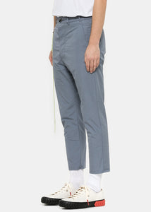 Sky Blue Tapered Pants