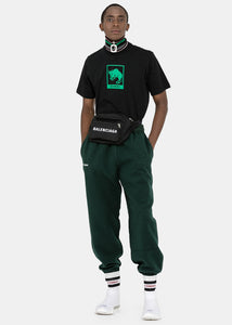 Dark Green Inside-Out Sweatpants