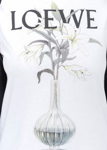 White flower vase t shirt leisure center white flower vase t shirt mightylinksfo