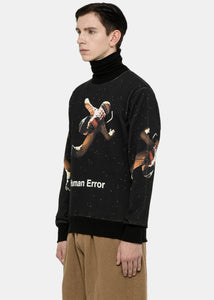 Black 'Human Error' Sweatshirt