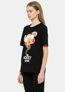 "Black ""Honey Babe"" Bee T-Shirt"