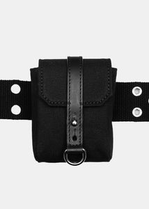 Black Multi Pocket Belt