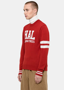 Red 'HAL' Laboratories Sweater