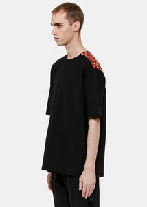 Black Tailored T-Shirt