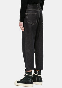 Black Collapse Jeans