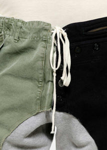 Navy & Green Quartered Lounge Pants