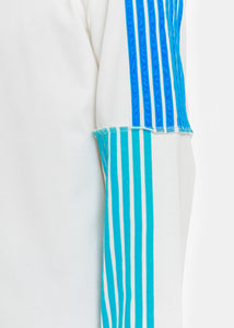 White Blue Stripe T-Shirt