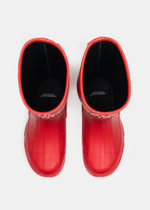 Red 'We Are Infinite' Rain Boots